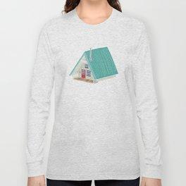 Little A Frame Cabin Long Sleeve T-shirt