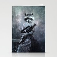 gangster Stationery Cards featuring Gangster by ppatphoto