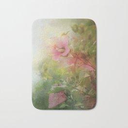 Soft Pink Roses of Sharon Bath Mat