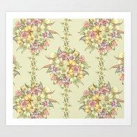 Bouquet Blossom Art Print