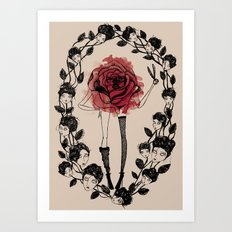 The wreath Art Print