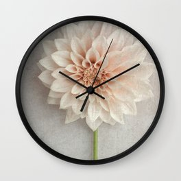 Cafe au lait Dahlia Wall Clock