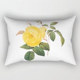 Vintage Yellow Rose [01] Rectangular Pillow