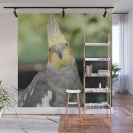 Exotic Bird Wall Mural