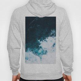 Wild ocean waves II Hoody