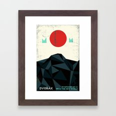 From the New World - Dvorak - Symphony No. 9 Framed Art Print