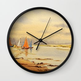 A Great Day For Sailing Wall Clock