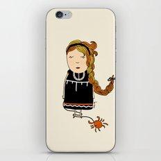 Cancer Girl  iPhone & iPod Skin