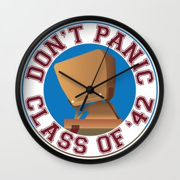 Class of '42 Wall Clock