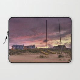Sunset after Hurricane Florence Laptop Sleeve