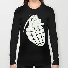 Heart Grenade Long Sleeve T-shirt