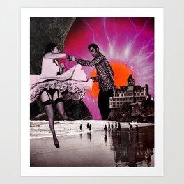 Dance Lesson  Art Print