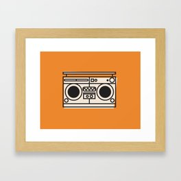 Kickin' It Old School Framed Art Print