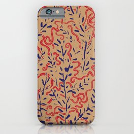 Indian Snakes iPhone Case
