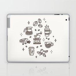 Coffee Doodles Laptop & iPad Skin