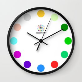 Robert Hirst Spot Clock 2 Wall Clock