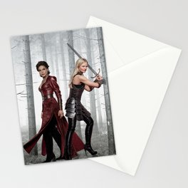 SwanQueen Enchanted Forest Stationery Cards