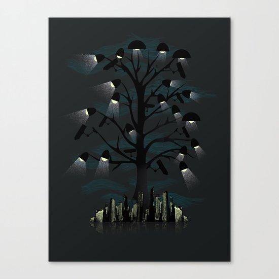 Goodnight City Canvas Print