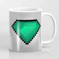 diamond Mugs featuring Diamond by eARTh