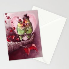 Love is in the Air Stationery Cards