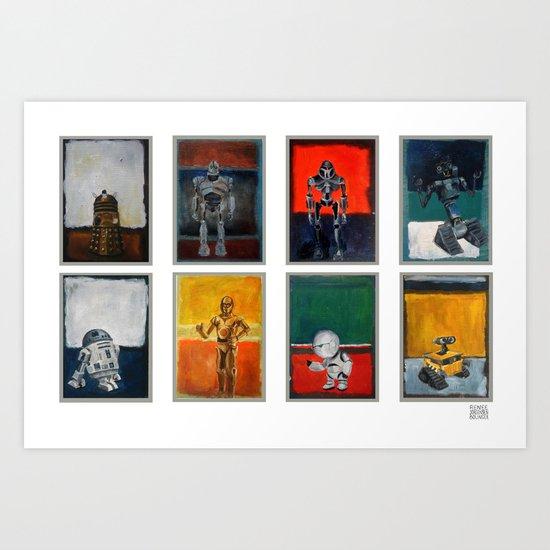 Rothbots (2) Art Print