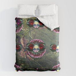 Black Forest Beasts of Botanica  Comforters