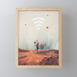 Wirelessly connected to Eternity Framed Mini Art Print
