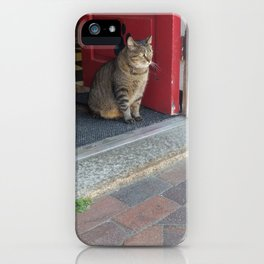 People Watching iPhone Case