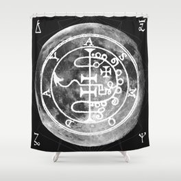 The Witches Moon Shower Curtain