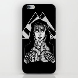 She's Filled with Secrets - Laura Palmer - Twin Peaks iPhone Skin