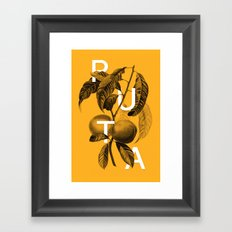 Peaches Framed Art Print