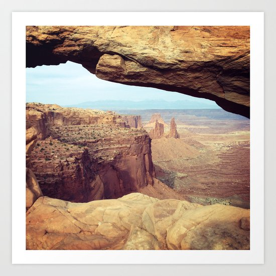 Canyonlands - Scenic Landscape Photo Art Print