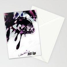 BLACK SWANY / TEARDROPS Stationery Cards