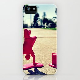 Breakdancing on a sunny day. iPhone Case