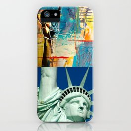 KEEP on ROCKIN - Statue of Liberty Style iPhone Case