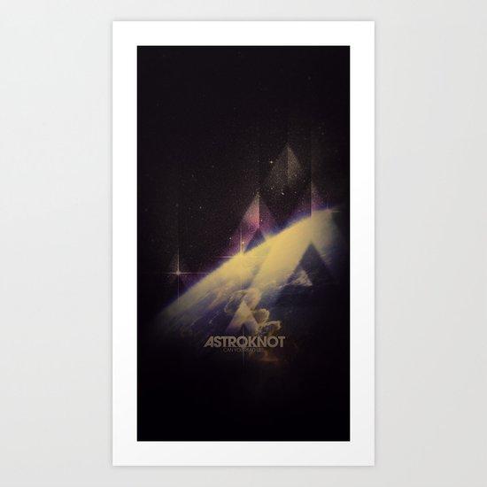 Astroknot Art Print
