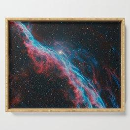 Veil Nebula Serving Tray