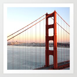 GOLDEN GATE BRIDGE - 1 Art Print