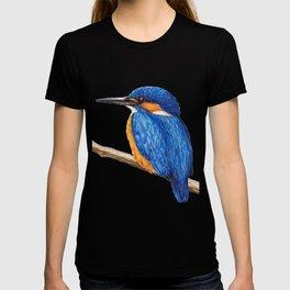 Kingfisher by Lars Furtwaengler | Ink Pen | 2011 T-shirt
