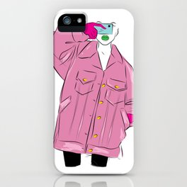 Fashion Can't Escape 2 iPhone Case