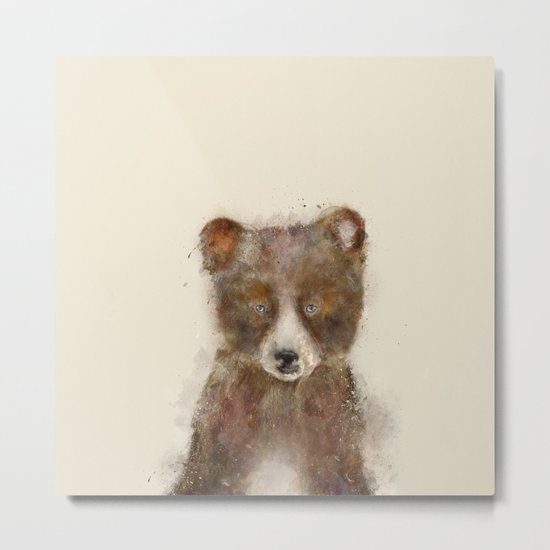 Little grizzly Metal Print