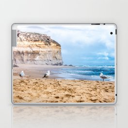 Australian Seagulls on the Beach near the Apostles Laptop & iPad Skin