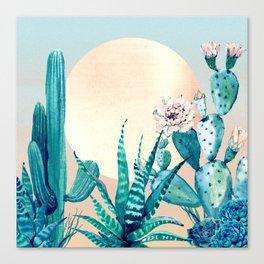 Desert Dawn Canvas Print
