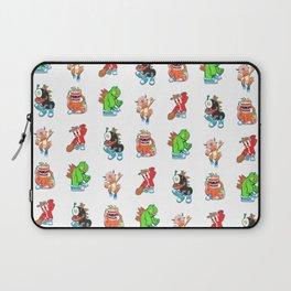 Kaiju Food Monsters Pattern #2 Laptop Sleeve