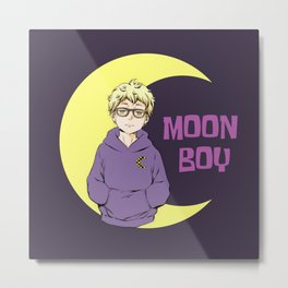 Moon Boy Metal Print
