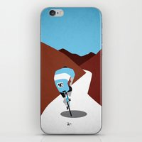 cycling iPhone & iPod Skins featuring Cycling by Osvaldo Casanova