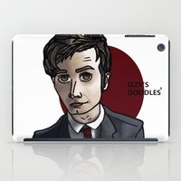 david tennant iPad Cases featuring David Tennant by Izzy King