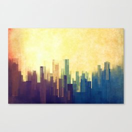 The Cloud City Canvas Print
