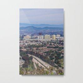 San Diego Lookout Metal Print
