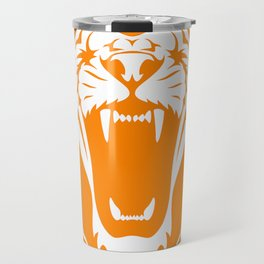 Wild jungle Animal Lion Roar Travel Mug